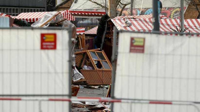 Terrorismus: Zerstörter Weihnachtsmarkt am Breitscheidplatz