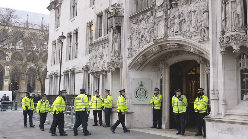 Großbritannien Polizei