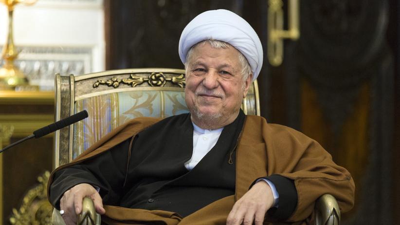 Ali Akbar Haschemi Rafsandschani: Der frühere iranische Präsident Ali Akbar Haschemi Rafsandschani
