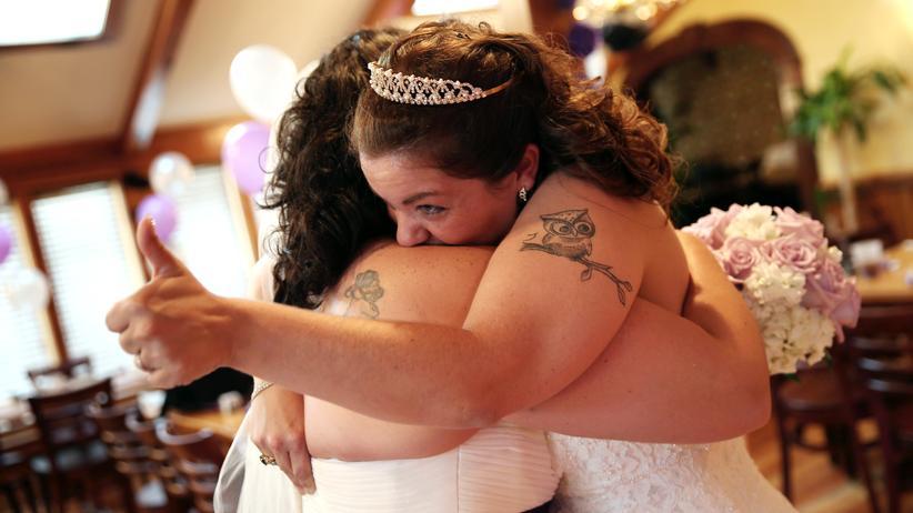 Antidiskriminierungsstelle des Bundes: Eine gleichgeschlechtliche Eheschließung in South Carolina (Archivbild)