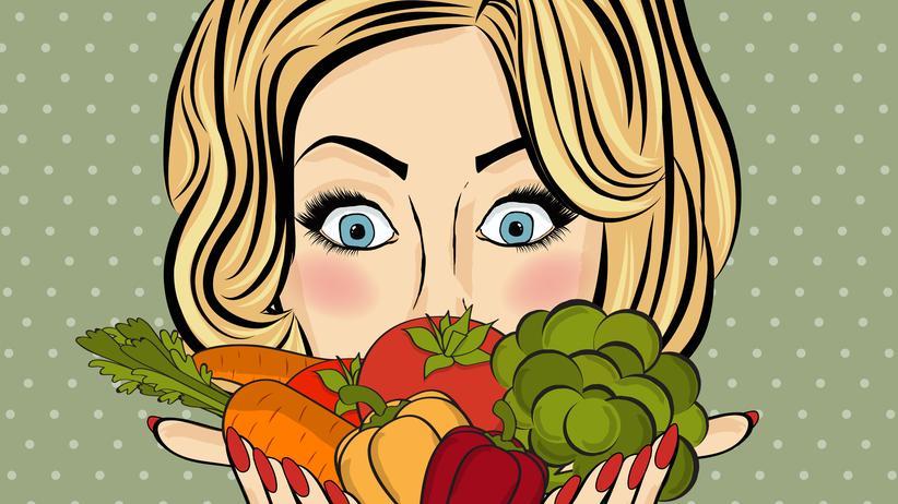 Selbstoptimierung: Nach 30 Tagen partieller Lachs-Gemüse-Diät: minus ein Kilo Fett! Bäm!