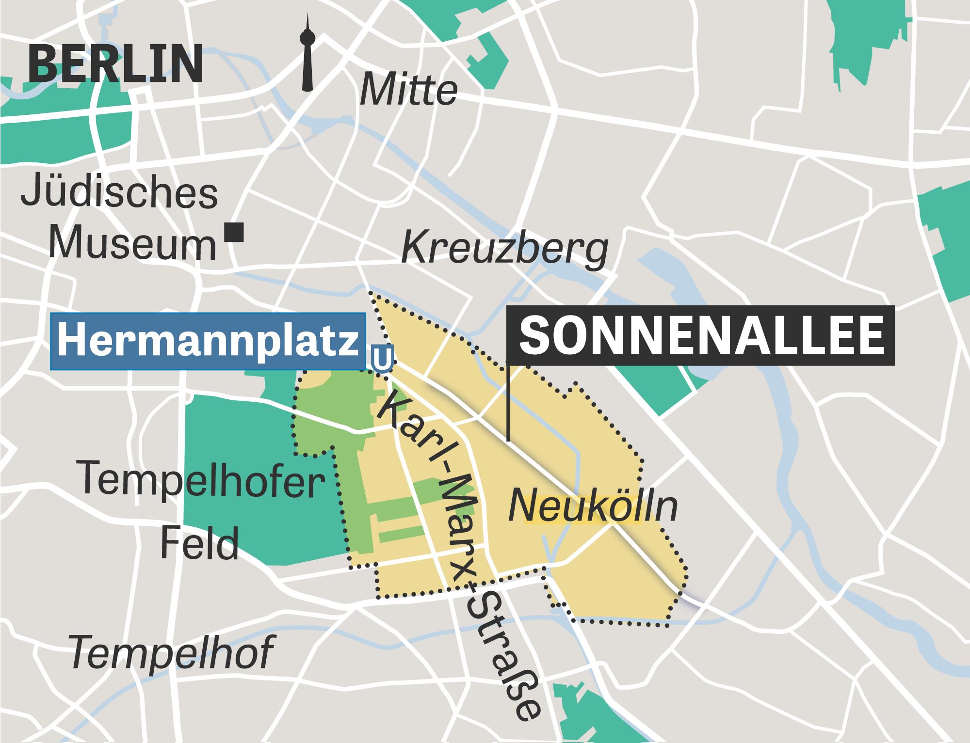 Berlin Neuköln Sonnenallee