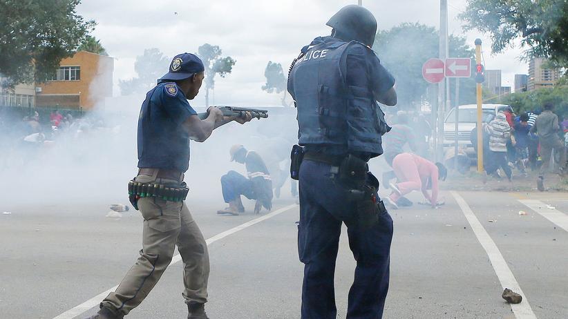 Pretoris Proteste Südafrika