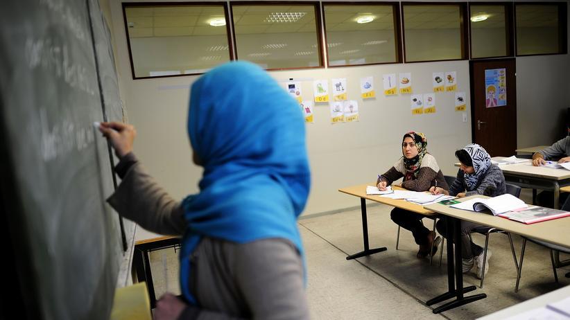 Weibliche Flüchtlinge: Deutschkurs für Flüchtlinge in Sarstedt
