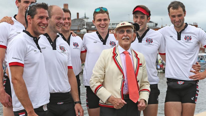 Charles Eugster: Dr. Charles Eugster Juli 2013 bei der Henley Royal Regatta