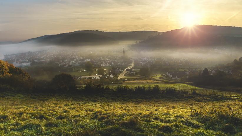 """Martin Schulz: Der neueste Trend heißt """"Dorf""""."""
