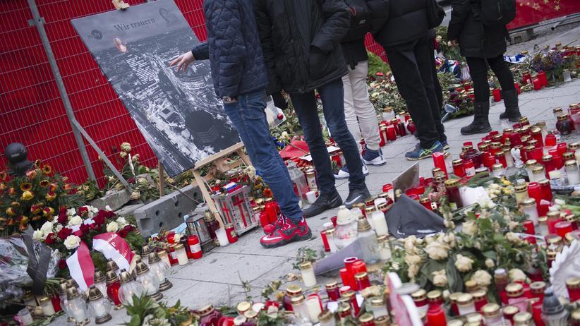 Anschlag in Berlin: Gedenken im Januar am Anschlagsort in Berlin