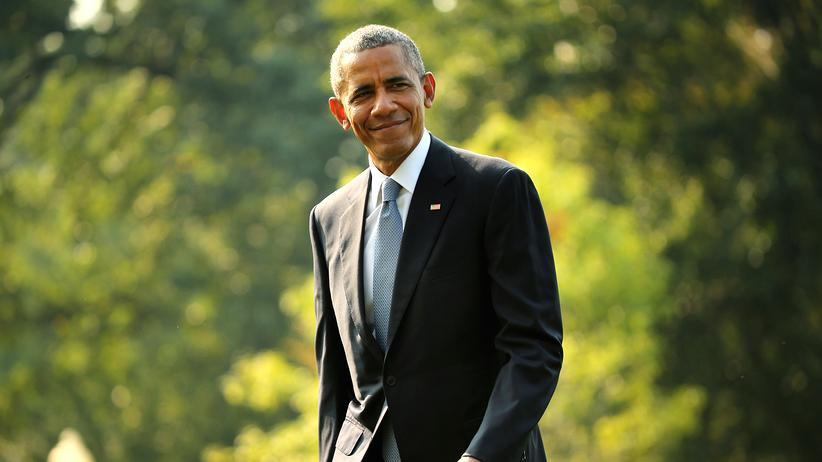 Barack Obama: An Himmelfahrt wird Barack Obama mit Angela Merkel vor dem Brandenburger Tor über Gott und die Welt reden.