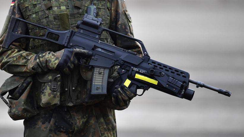Bundeswehr Soldat Hammelburg