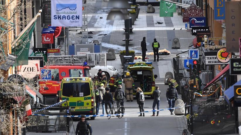 """Stockholm: Festgenommener soll """"wahrscheinlich"""" Lkw gefahren haben"""