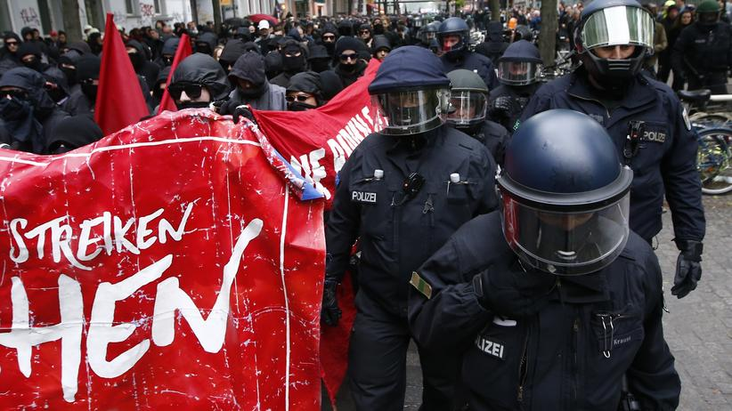 Berlin: 40 Festnahmen bei Maidemonstration