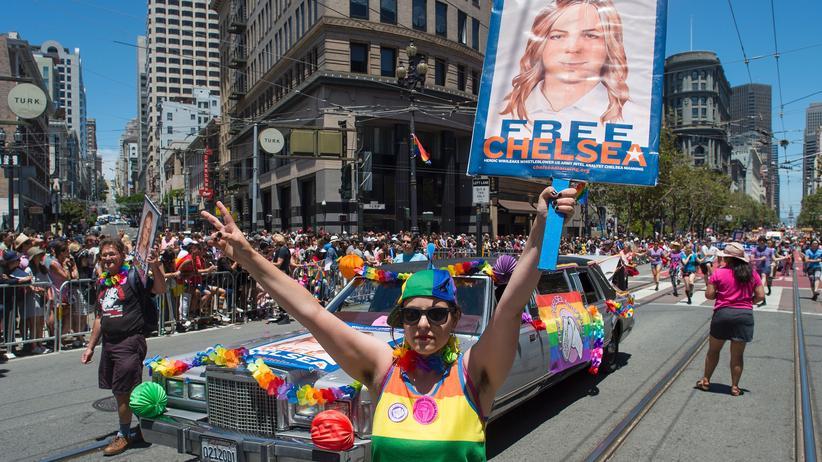 Whistleblowerin: Chelsea Manning dankte all ihren Unterstützern weltweit.