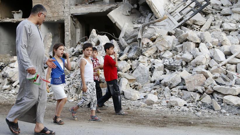 Syrien: Kurz vor dem Fastenbrechen des Ramadan wurden Zivilisten in Deir ez-Zor von Mörserbeschuss getroffen (Archiv).
