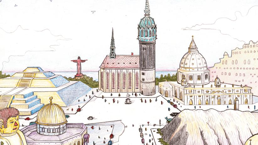 Wittenberg: Das Weltstadtdorf