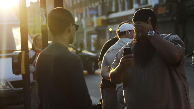 Terror in London: Im Londoner Stadtteil Finsbury Park wurden gezielt Muslime angegriffen.