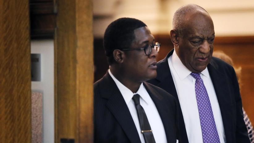 Entertainer Bill Cosby vor dem Schlussplädoyer seiner Verteidigung