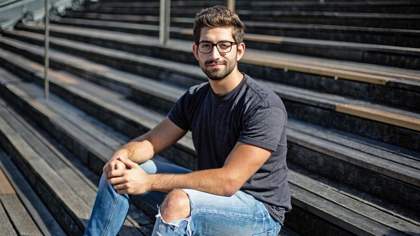 Instagram-Serie PeopleofEurope: Hani Zaitoun, der derzeit zwischen der deutschen Hauptstadt Berlin und den USA pendelt, ist überzeugt, dass sich die arabischen Staaten an der EU ein Beispiel nehmen sollten