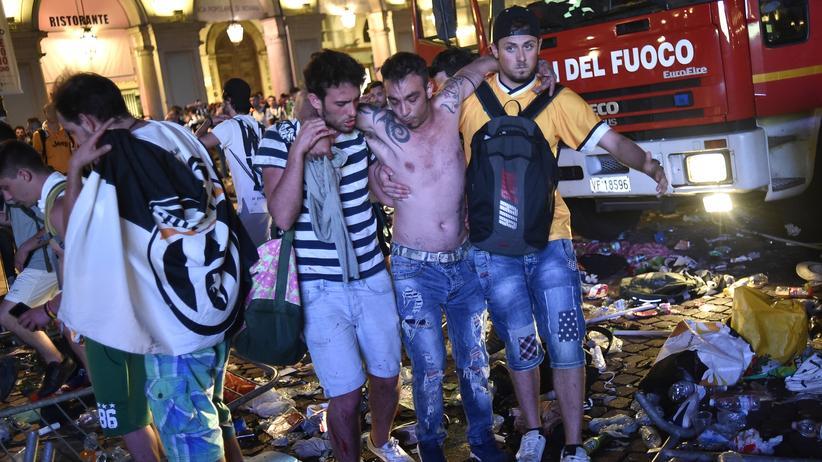 Champions League: Hunderte Verletzte nach Panik beim Public Viewing