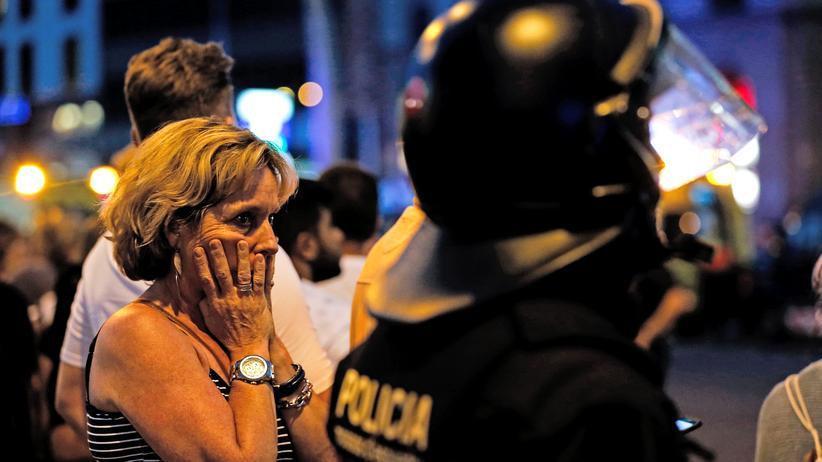 Barcelona Trauer Opfer