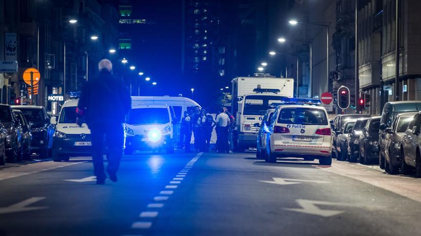 Belgien: Ein Mann hatte am Freitag Soldaten in der Innenstadt von Brüssel mit einem Messer angegriffen und wurde erschossen.
