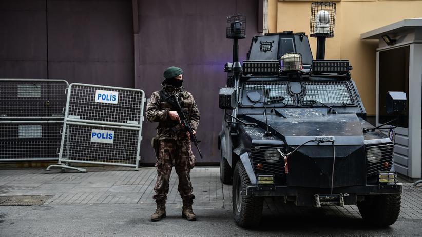 Istanbul: Polizist in Istanbul: Angriff nach einem Antiterroreinsatz
