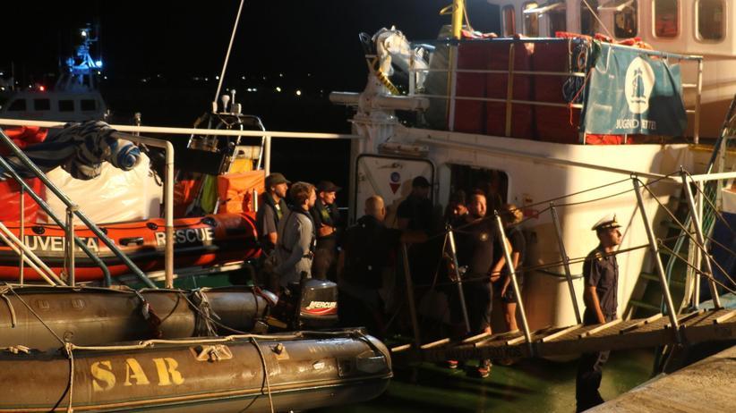 Jugend Rettet: Italien beschlagnahmt Schiff von deutschen Seenotrettern