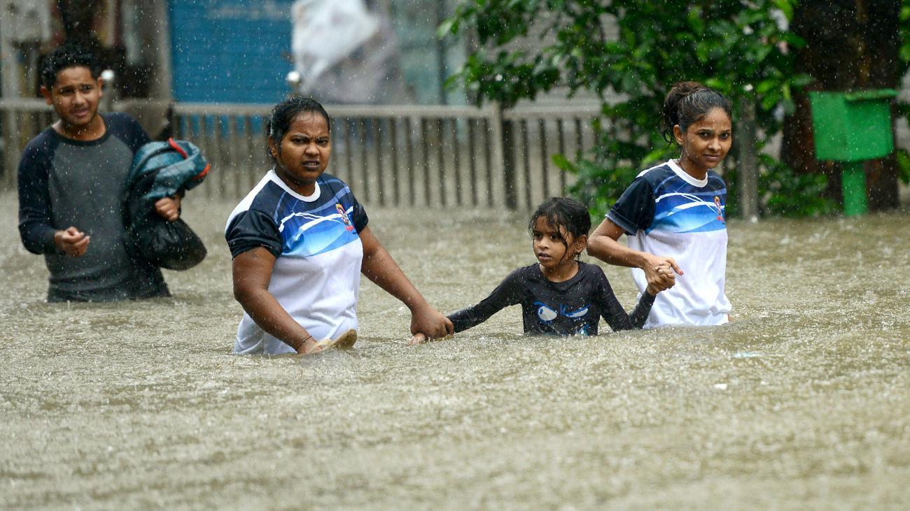Überflutungen in Indien