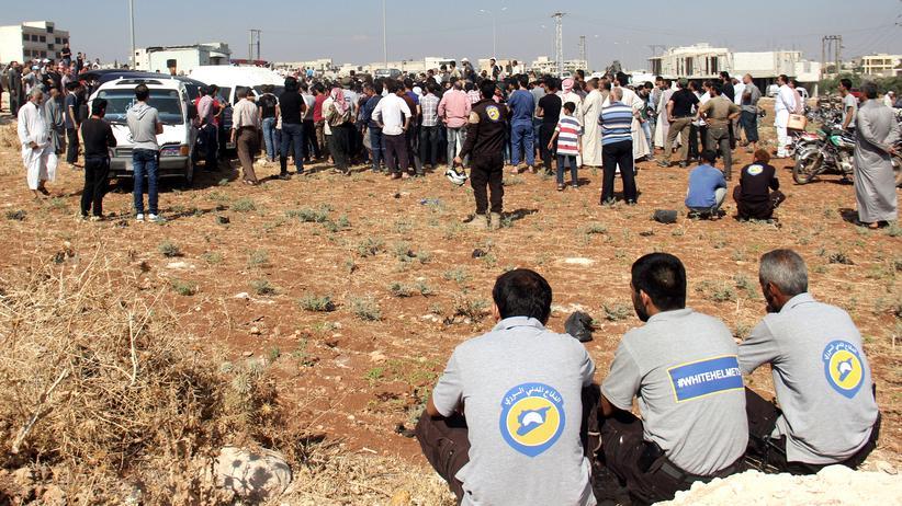 Syrien: Helfer der Weißhelme getötet