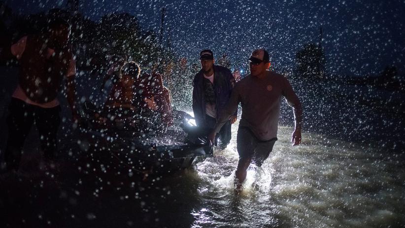 Texas: Rettungskräfte in Houston