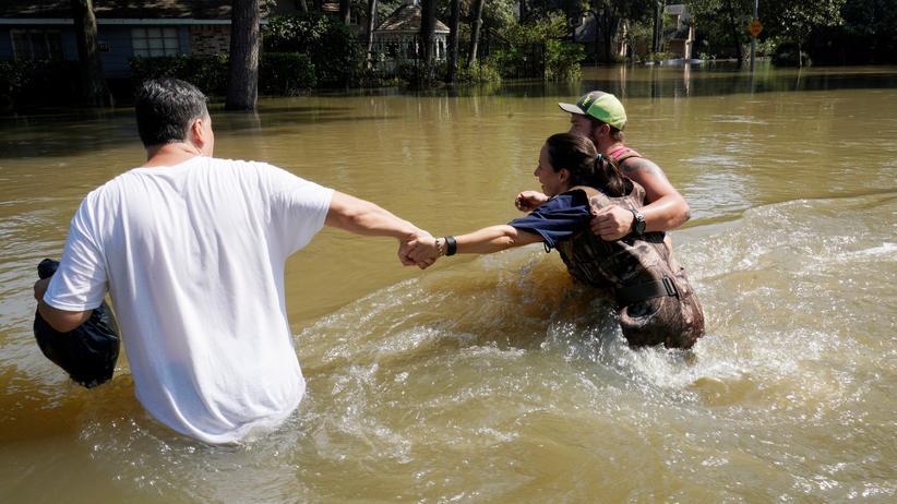 Hurrikan Harvey: Flutschäden weitaus größer als befürchtet