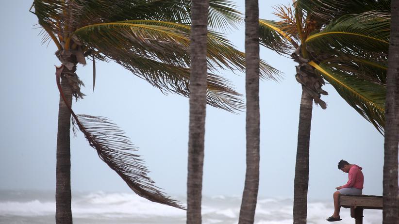 Hurrikan Irma: Für die Flucht ist es zu spät