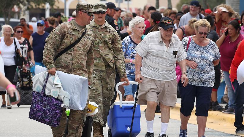 Hurrikan Irma: 6,3 Millionen Menschen in Florida sollen Häuser verlassen