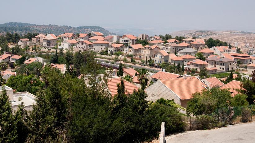 Nahost-Konflikt: Die Siedlung Har Adar wurde 1986 gegründet. Etwa 4.000 Menschen leben in dem Ort nordwestlich von Jerusalem.