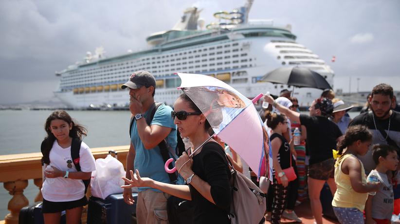 Puerto Rico: Maria wütet in der Karibik