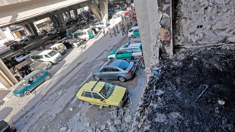 Anschlag Polizeistation Damaskus