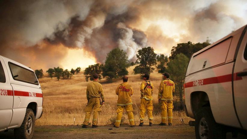 Waldbrände in Kalifornien: Zahlreiche Tote bei Bränden in Kalifornien