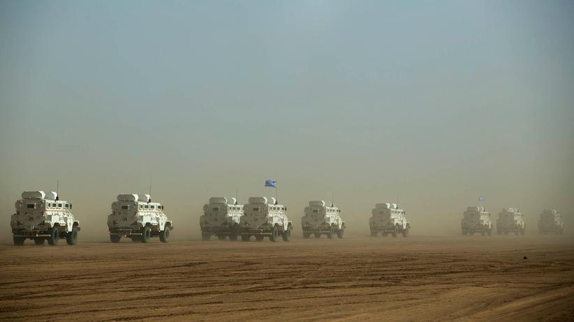 UN-Friedensmission: Drei Blauhelmsoldaten in Mali getötet