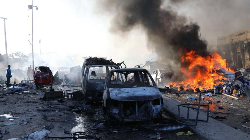 Somalia: Mehr als 50 Tote bei Anschlag in Mogadischu
