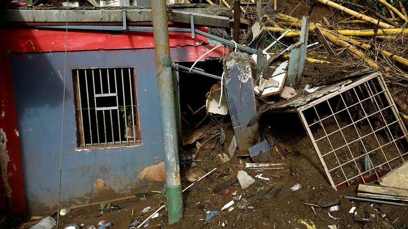 Nate: Tote durch Tropensturm in Zentralamerika