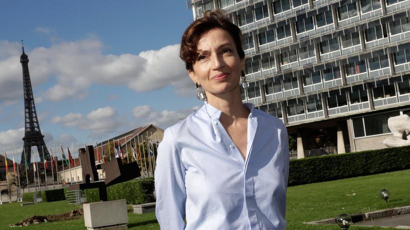 Audrey Azoulay: Zur neuen Chefin der Unesco gewählt: die Französin Audrey Azoulay