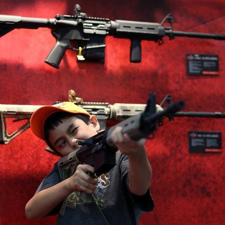 """Waffen in den USA: """"Weil ich es kann, das ist mein Recht"""""""