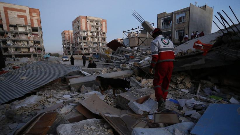 Grenzgebiet: Schweres Erdbeben in Irak und Iran