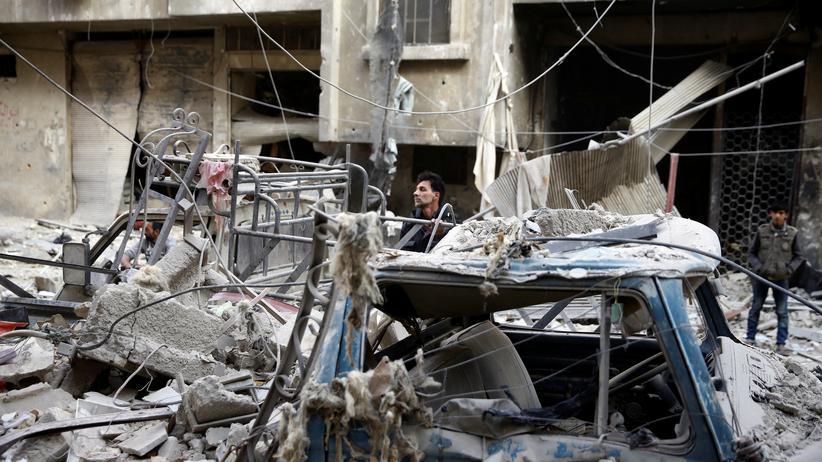 """""""Islamischer Staat"""" : Mindestens 20 Tote bei IS-Anschlägen in Syrien"""