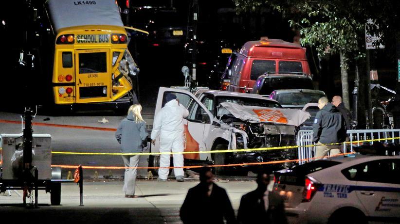 New York: FBI vernimmt nach Anschlag zweiten Usbeken