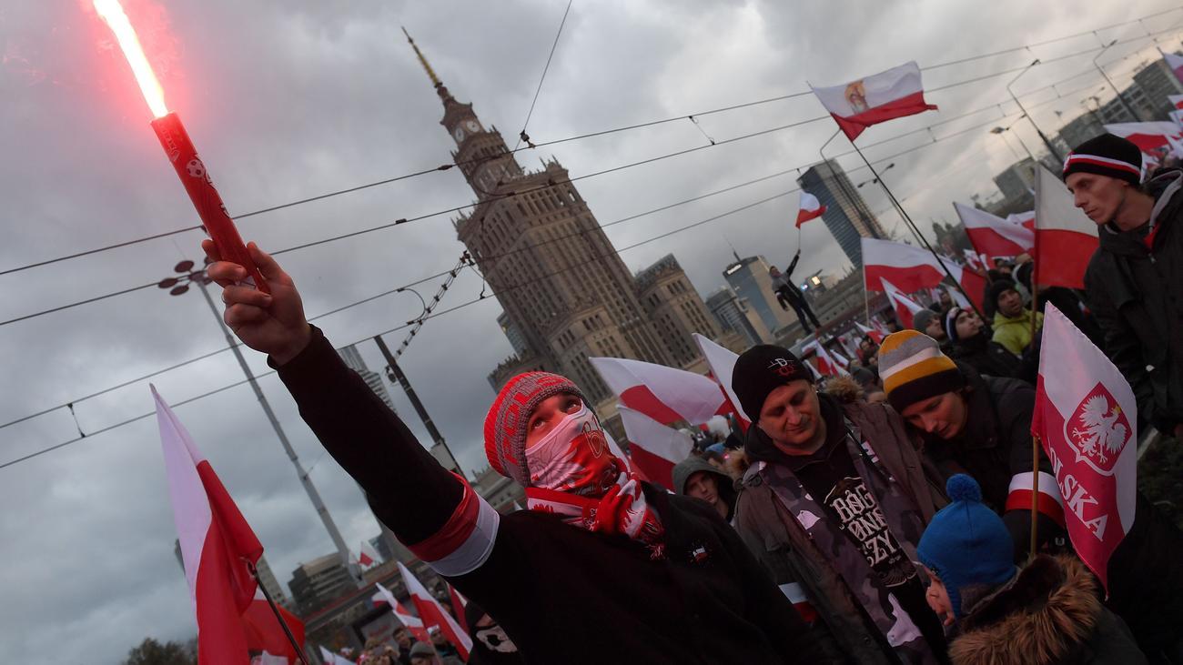 Warschau Einwohner