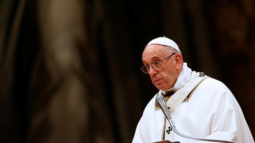 Papst Franziskus verkündet Weihnachtsbotschaft
