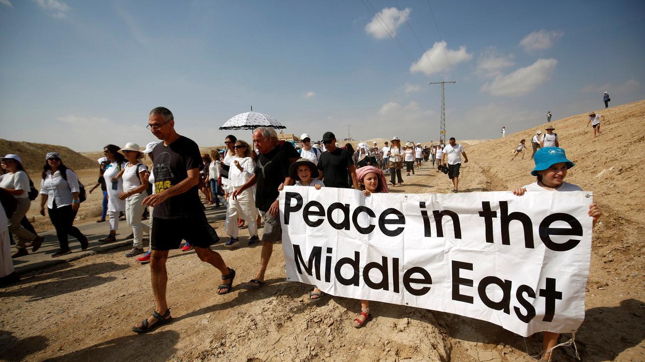 Nahost Konflikt Wir Brauchen Utopien F R Frieden Im Nahen