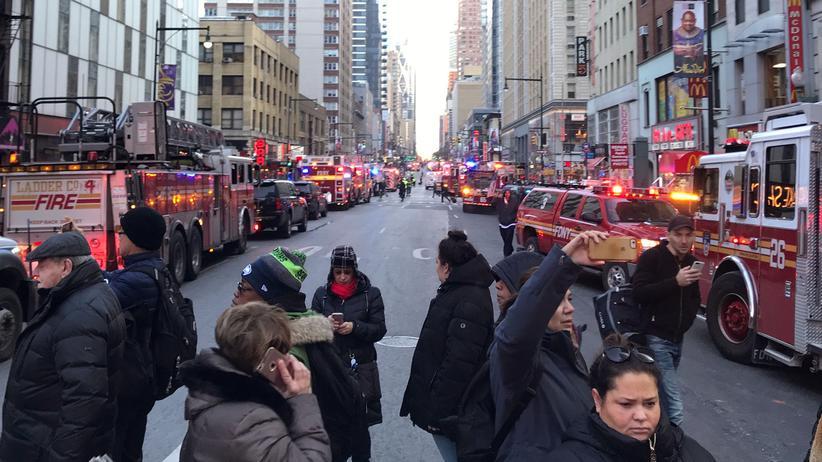 New York: Vier Verletzte bei Anschlagsversuch in Manhattan