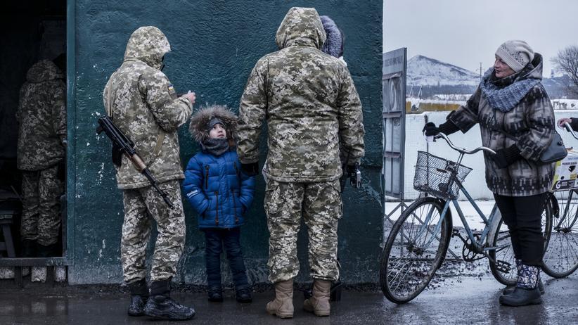"""Ukraine: """"Granaten werden die Häuser dieser Kinder treffen"""""""