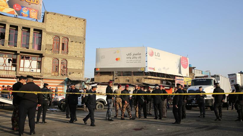 Irak: Viele Tote bei Anschlägen in Bagdad